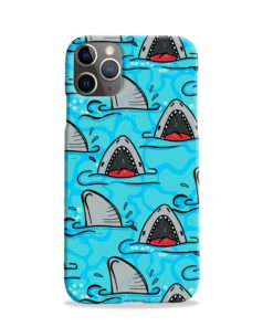 Shark Mouth Pattern for iPhone 11 Pro Case Cover