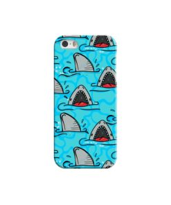 Shark Mouth Pattern for iPhone 5 Case