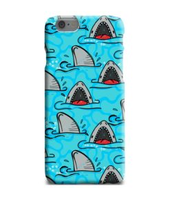 Shark Mouth Pattern for iPhone 6 Plus Case
