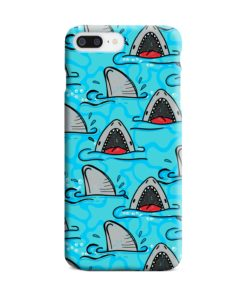 Shark Mouth Pattern for iPhone 7 Plus Case Cover
