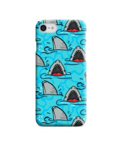 Shark Mouth Pattern for iPhone 8 Case Cover