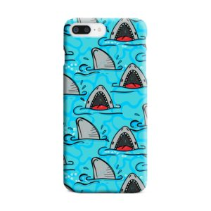 Shark Mouth Pattern for iPhone 8 Plus Case