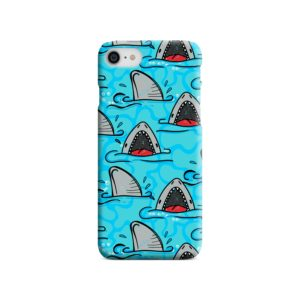 Shark Mouth Pattern for iPhone SE (2020) Case