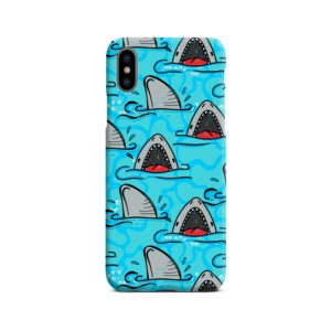 Shark Mouth Pattern for iPhone X / XS Case Cover