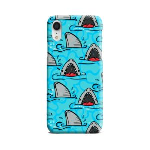 Shark Mouth Pattern for iPhone XR Case Cover