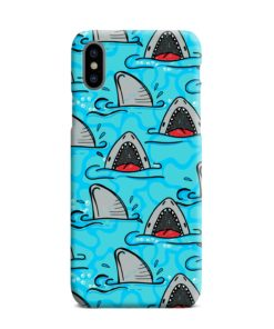 Shark Mouth Pattern for iPhone XS Max Case Cover