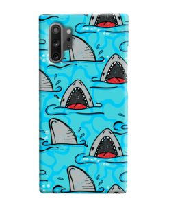 Shark Mouth Pattern for Samsung Galaxy Note 10 Plus Case Cover