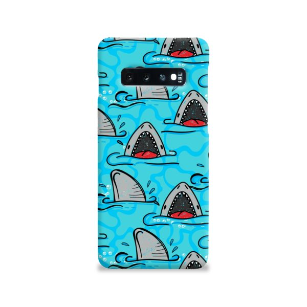 Shark Mouth Pattern for Samsung Galaxy S10 Case Cover