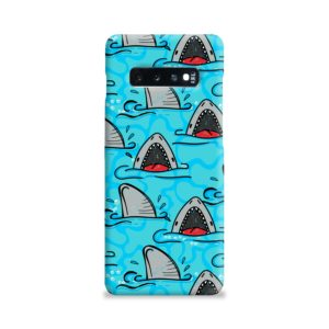 Shark Mouth Pattern for Samsung Galaxy S10 Plus Case