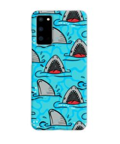 Shark Mouth Pattern for Samsung Galaxy S20 Case