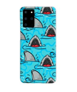 Shark Mouth Pattern for Samsung Galaxy S20 Plus Case