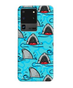 Shark Mouth Pattern for Samsung Galaxy S20 Ultra Case