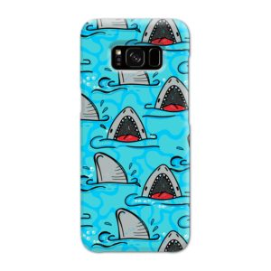 Shark Mouth Pattern for Samsung Galaxy S8 Case