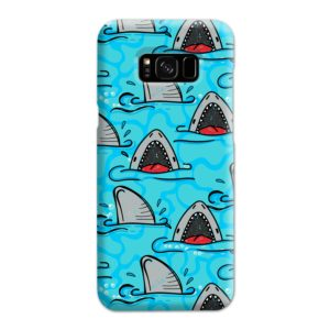 Shark Mouth Pattern for Samsung Galaxy S8 Plus Case