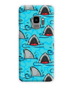 Shark Mouth Pattern for Samsung Galaxy S9 Case