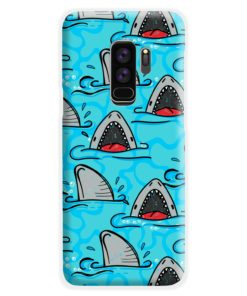 Shark Mouth Pattern for Samsung Galaxy S9 Plus Case Cover
