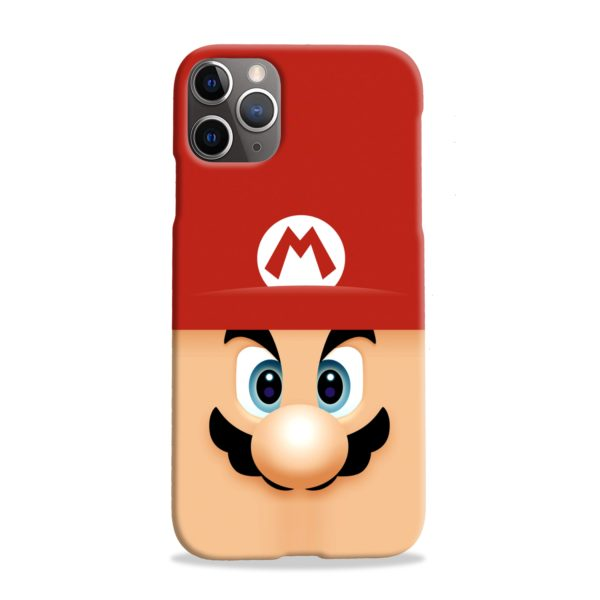 Super Mario Face iPhone 11 Pro Max Case