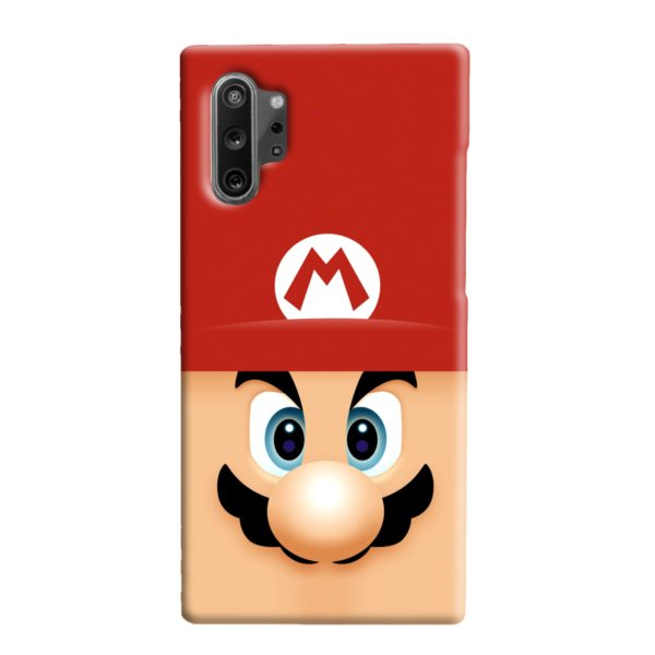 Super Mario Face Samsung Galaxy Note 10 Plus Case