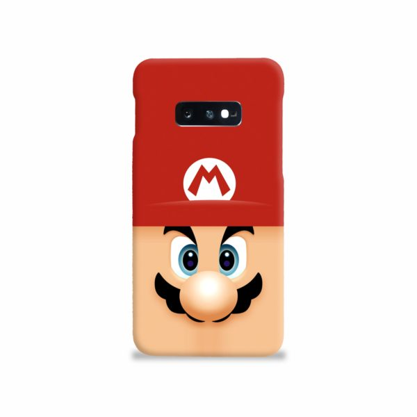 Super Mario Face Samsung Galaxy S10e Case