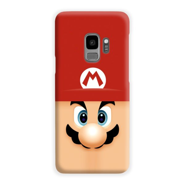 Super Mario Face Samsung Galaxy S9 Case