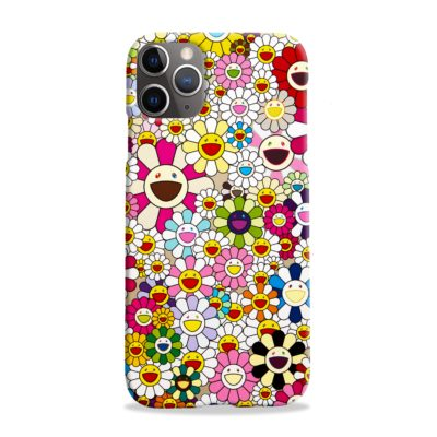 Takashi Murakami Flowers for iPhone 11 Pro Max Case Cover