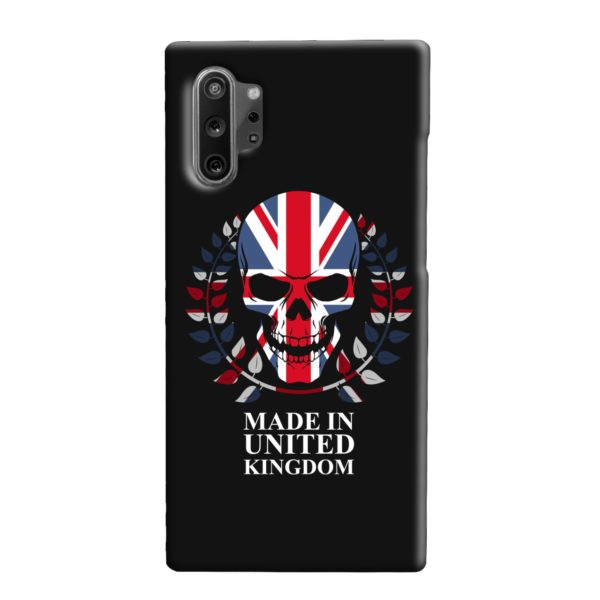 United Kingdom Skull Tattoo Samsung Galaxy Note 10 Plus Case