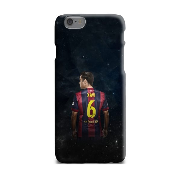 Xavi Hernandez Barcelona iPhone 6 Plus Case