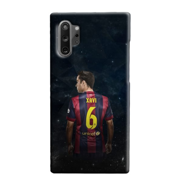 Xavi Hernandez Barcelona Samsung Galaxy Note 10 Plus Case
