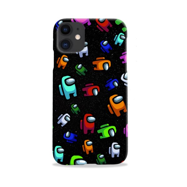 Among Us Pattern iPhone 11 Case