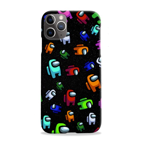 Among Us Pattern iPhone 11 Pro Max Case