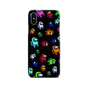 Among Us Pattern iPhone X / XS Case