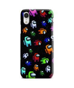 Among Us Pattern iPhone XR Case