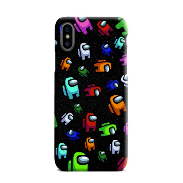 Among Us Pattern iPhone XS Max Case