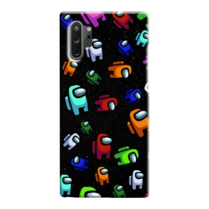Among Us Pattern Samsung Galaxy Note 10 Case