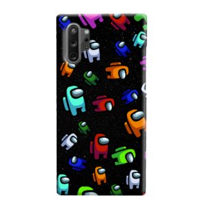 Among Us Pattern Samsung Galaxy Note 10 Plus Case