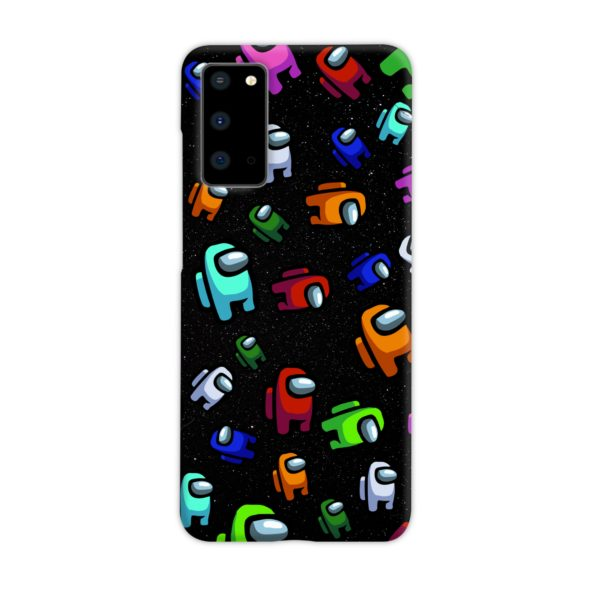 Among Us Pattern Samsung Galaxy S20 Case