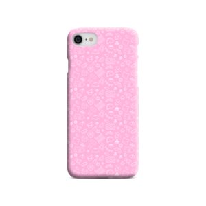 Baby Pink Icons iPhone 8 Case