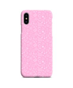 Baby Pink Icons iPhone X / XS Case