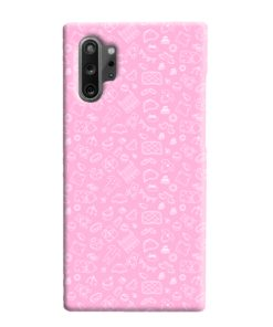 Baby Pink Icons Samsung Galaxy Note 10 Plus Case