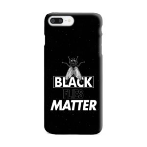 Black Flies Matter iPhone 8 Plus Case
