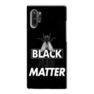 Black Flies Matter Samsung Galaxy Note 10 Case
