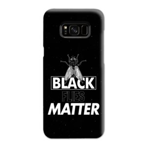 Black Flies Matter Samsung Galaxy S8 Plus Case