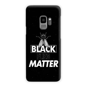 Black Flies Matter Samsung Galaxy S9 Case