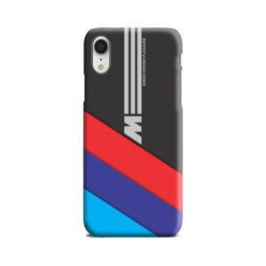 BMW M Sport Sheer Driving Pleasure iPhone XR Case