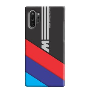 BMW M Sport Sheer Driving Pleasure Samsung Galaxy Note 10 Plus Case