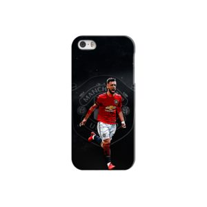Bruno Fernandes Art MUFC iPhone 5 Case
