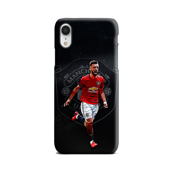 Bruno Fernandes Art MUFC iPhone XR Case