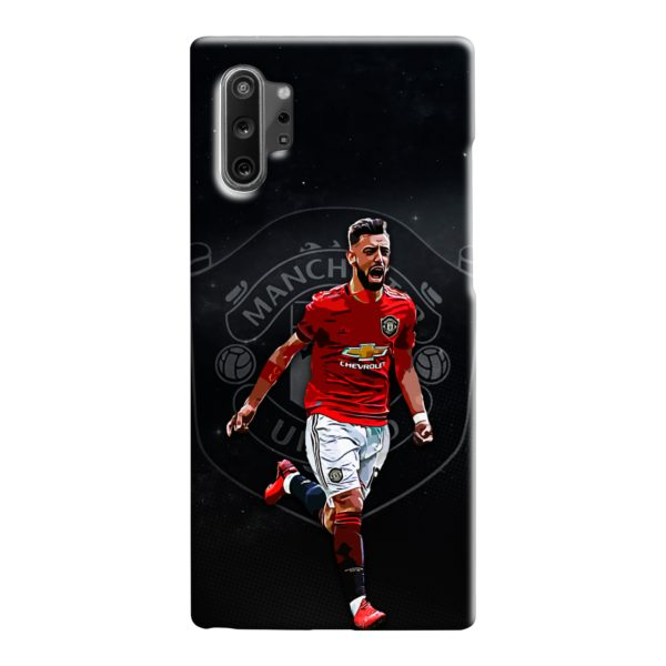 Bruno Fernandes Art MUFC Samsung Galaxy Note 10 Case
