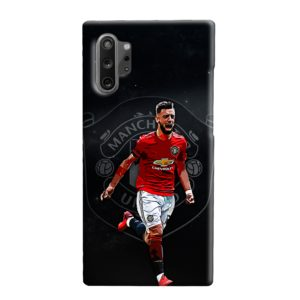Bruno Fernandes Art MUFC Samsung Galaxy Note 10 Plus Case