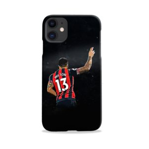 Callum Wilson Art iPhone 11 Case